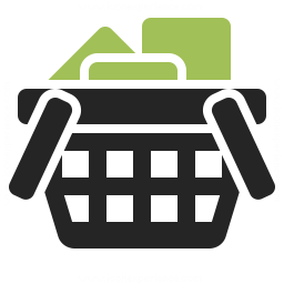 shopping basket full icon iconexperience professional icons 187 o collection