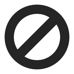 Sign Forbidden Icon 256x256