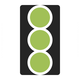 Trafficlight On Icon 256x256