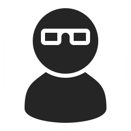 User Glasses Icon 256x256