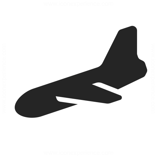 Airplane 2 Landing Icon