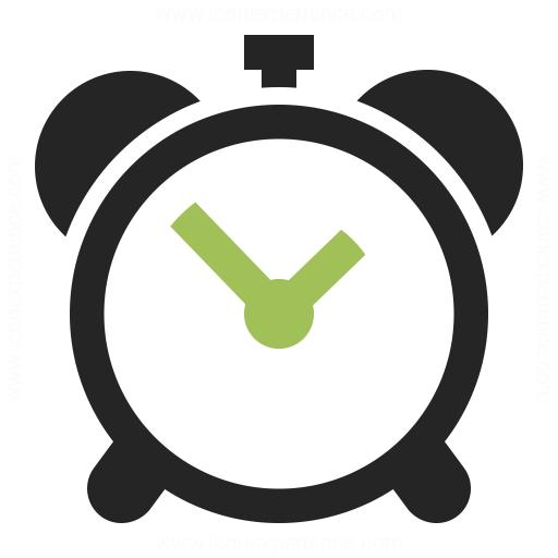 Alarmclock Icon & IconExperience - Professional Icons » O ...