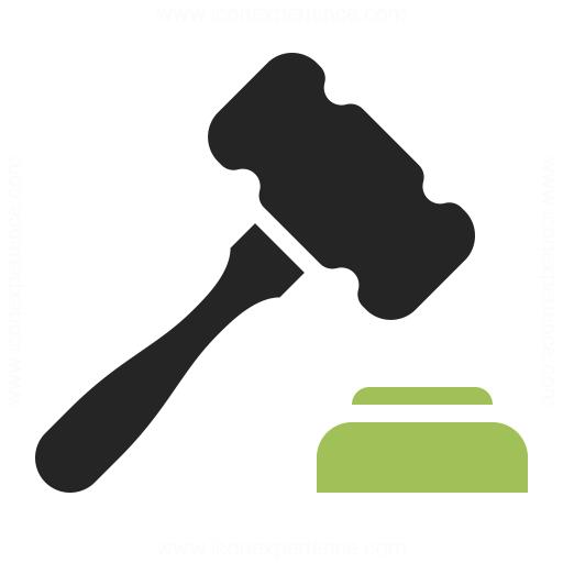 Auction hammer Icon | Or Application Iconset | IconLeak