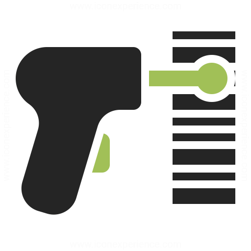 Barcode Scanner Icon for Pinterest