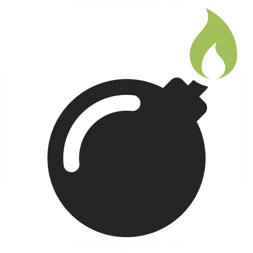 Bomb Icon & IconExperience - Professional Icons » O-Collection