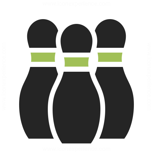 Bowling Pins Icon Amp Iconexperience Professional Icons