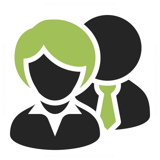 Businesspeople 2 Icon & IconExperience - Professional ...