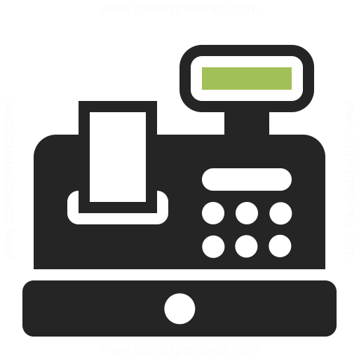 Cash Register Icon & IconExperience - Professional Icons ...