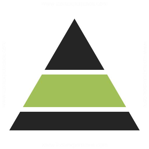 Pyramid Icon  on engine diagram