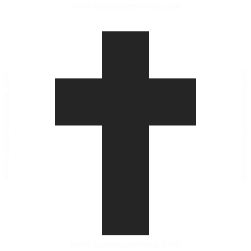 christian cross icon amp iconexperience professional icons