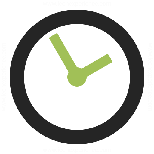 clock icon amp iconexperience professional icons 187 o