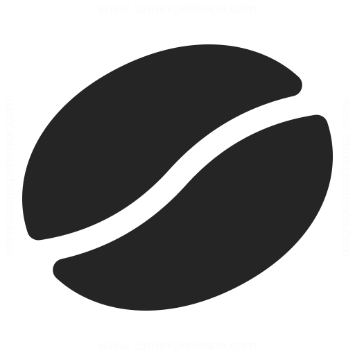 Coffee Bean Icon & IconExperience - Professional Icons » O ...