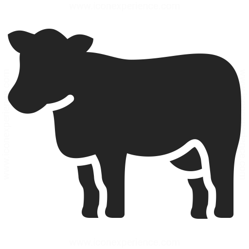 cow icon   iconexperience professional icons  u00bb o collection animal clipart black and white free ocean animal clipart black and white