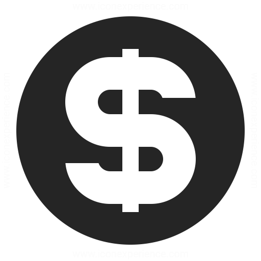 Currency Dollar Icon & IconExperience - Professional Icons ...