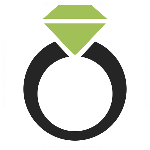 diamond ring vector icon - photo #37