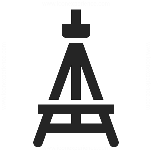 Easel Empty Icon