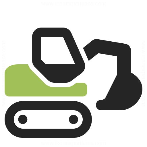 IconExperience » O-Collection » Excavator Icon: https://www.iconexperience.com/o_collection/icons/?icon=excavator