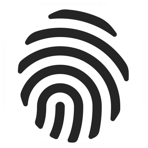 Fingerprint Icon & IconExperience - Professional Icons » O ...