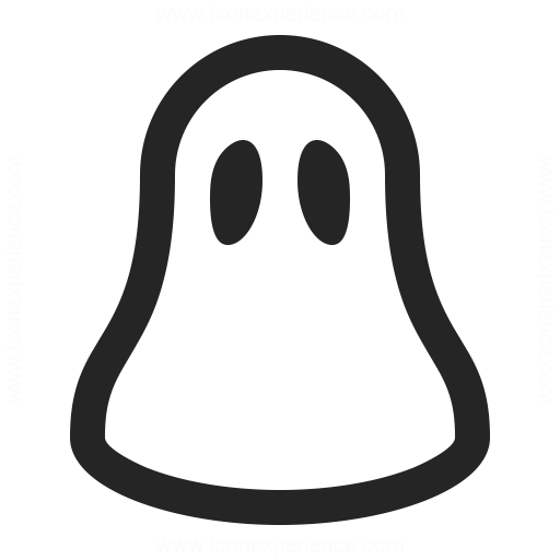 ghost icon amp iconexperience professional icons 187 o