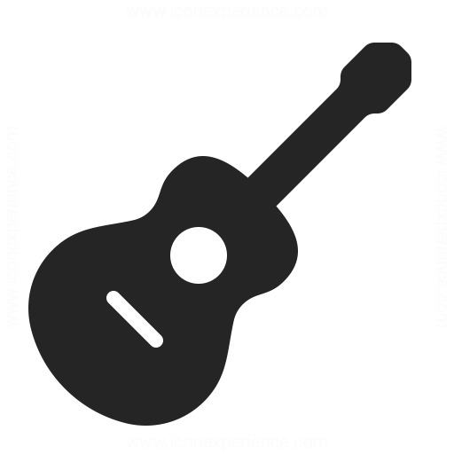 Guitar Icon & IconExperience - Professional Icons » O ...