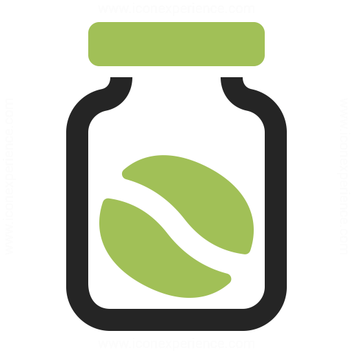 Jar Coffee Bean Icon
