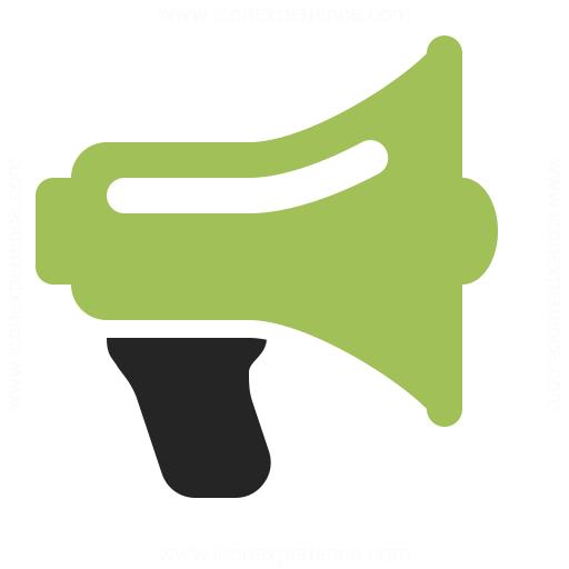 megaphone icon amp iconexperience professional icons 187 o