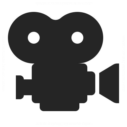 IconExperience » O-Collection » Movie Camera Icon
