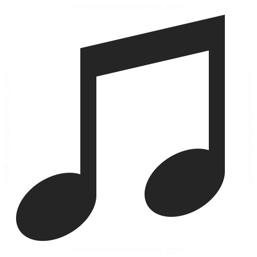 music icon   iconexperience professional icons  u00bb o music note clipart border music note clipart border