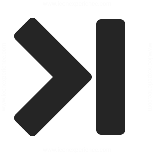 Navigate End Icon & IconExperience - Professional Icons ...