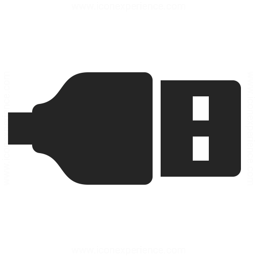 Plug Usb Icon & IconExperience - Professional Icons » O-Collection