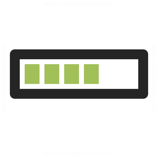 IconExperience » O-Collection » Progress Bar Icon: https://www.iconexperience.com/o_collection/icons/?icon=progress_bar