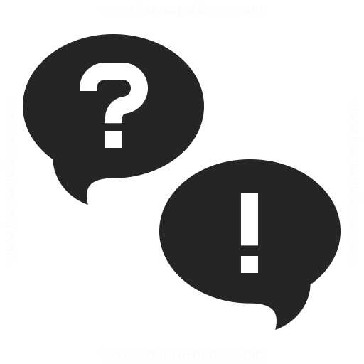 Question And Answer Icon & IconExperience - Professional ...