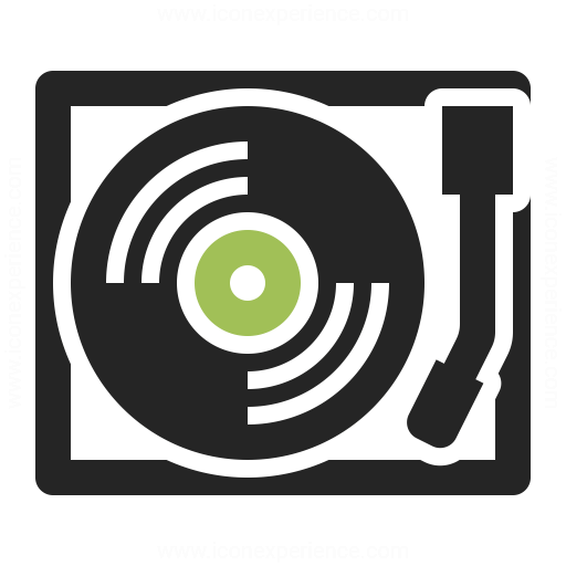 Record Player Icon & IconExperience