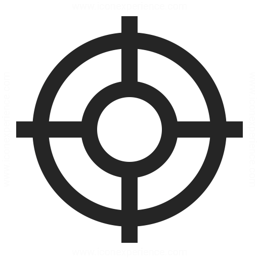 Reticle Icon Amp Iconexperience Professional Icons 187 O