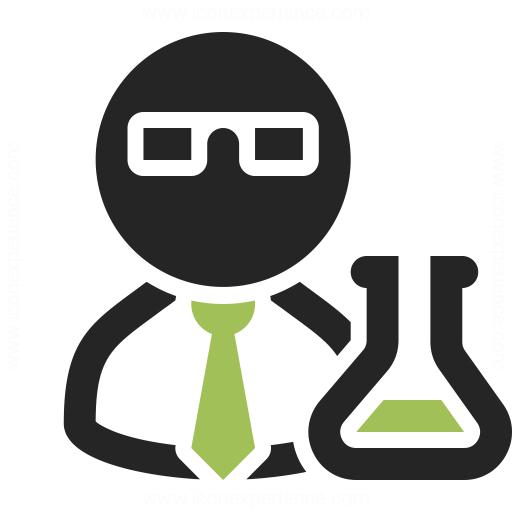 IconExperience » O-Collection » Scientist Icon: https://www.iconexperience.com/o_collection/icons/?icon=scientist