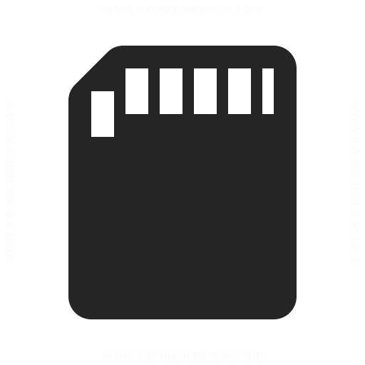 sd card icon amp iconexperience professional icons 187 o