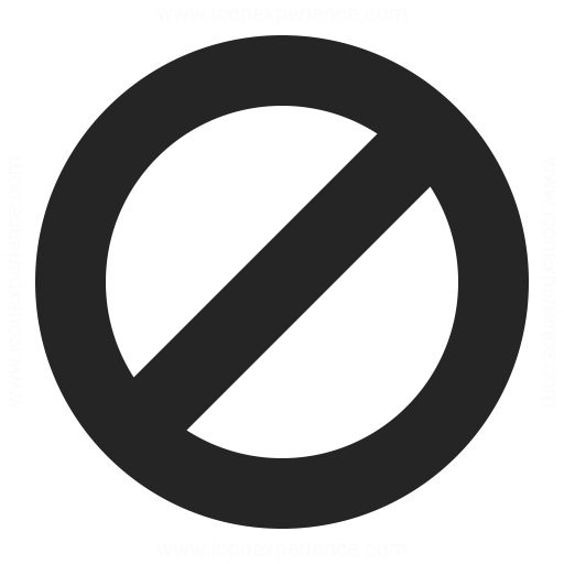 Sign Forbidden Icon