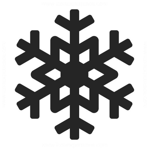 Snow Icon Snowf... White Snowflake Icon