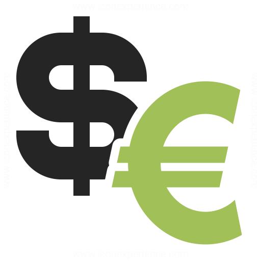 Symbol Dollar Euro Icon & IconExperience - Professional ...