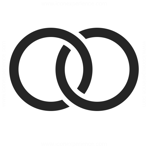 Wedding rings symbol  Wedding Rings Icon | IconExperience - Professional Icons » O ...