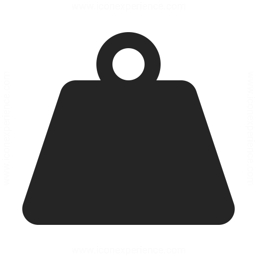 IconExperience » O-Collection » Weight Icon: iconexperience.com/o_collection/icons/?icon=weight