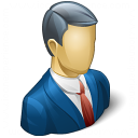 Businessman Icon 128x128