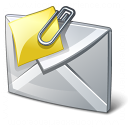 Mail Attachment Icon 128x128