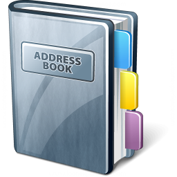 iconexperience v collection address book icon