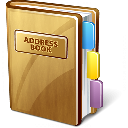 iconexperience v collection address book 2 icon