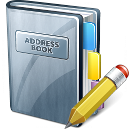 Address Book Edit Icon 256x256