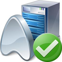 Application Server Ok Icon 256x256