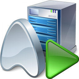 Application Server Run Icon 256x256