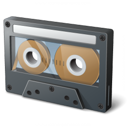 Audio Cassette Icon 256x256