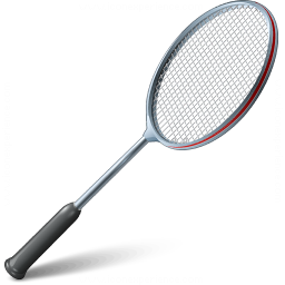 Badminton Racket Icon 256x256